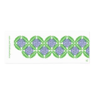 紫陽花 デザイン てぬぐい
