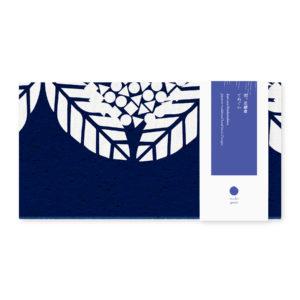 雨、北鎌倉 / [New] rain and kitakamakura 2019|tsukigoya|手捺染てぬぐい [藍]